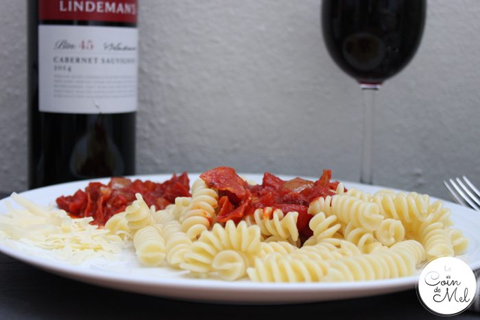 Wine Pairing for Dummies - Pasta with Cabernet Sauvignon
