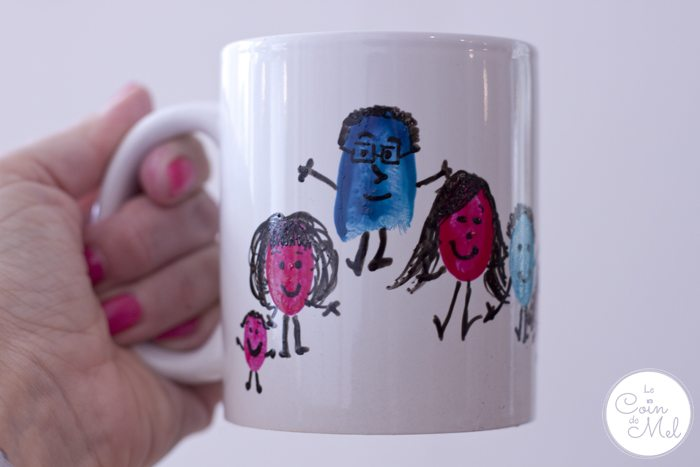 10-Minute Crafts - Make your Very Own Cheap Customised Mugs - Fingerpint Art