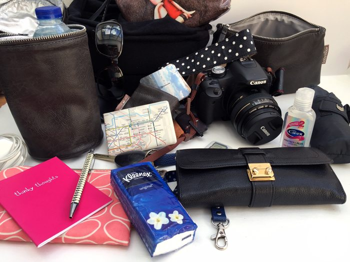 What do you Carry Around in your Handbag