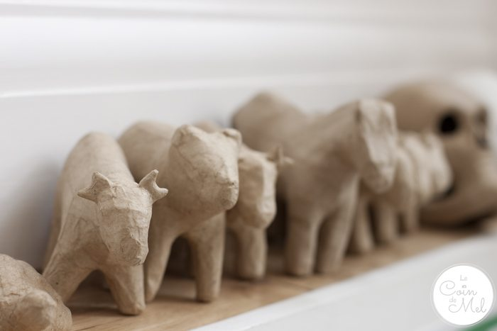 My Dream Craft Room - Papier Mache Animals