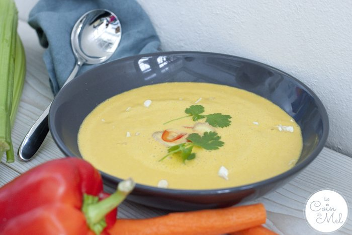 Thai Ginger Soup With Cashews