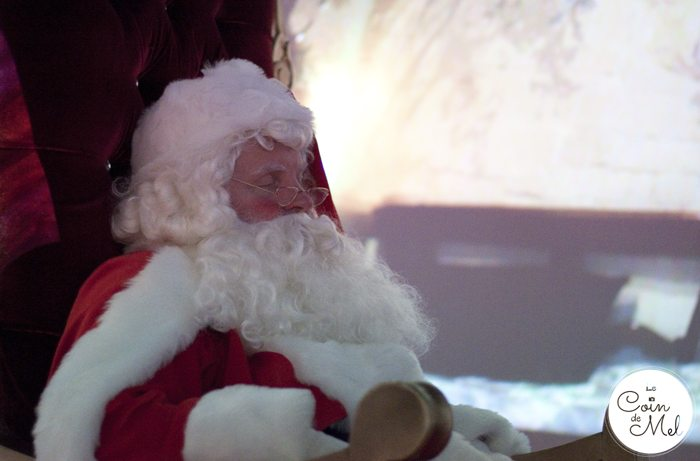 Sleepy Father Christmas - Santa's Grotto