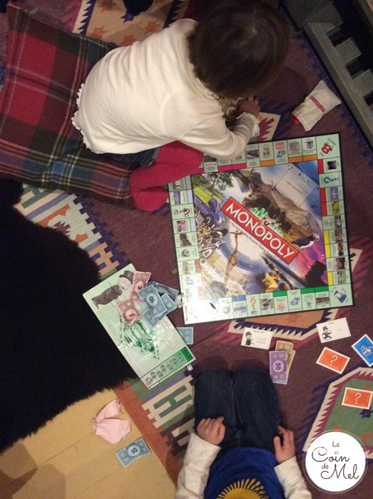 Holidays of a Lifetime at Eagle Brae - Playing Monopoly in Loxia