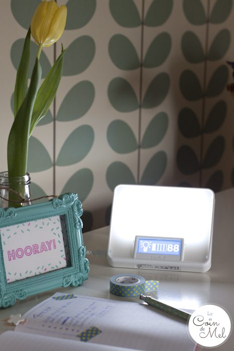 Living with SAD – Lumie Zest Wake-up Light used as a SAD Light