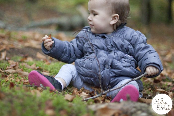 When Should My Baby Start Walking - Sitting in the Woods
