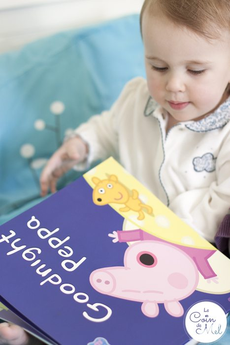 How Can I Get My Baby to Sleep Better & for Longer - reading Peppa Pig