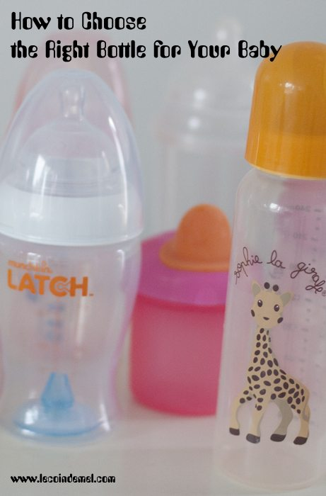 How to Choose the Right Bottle for Baby