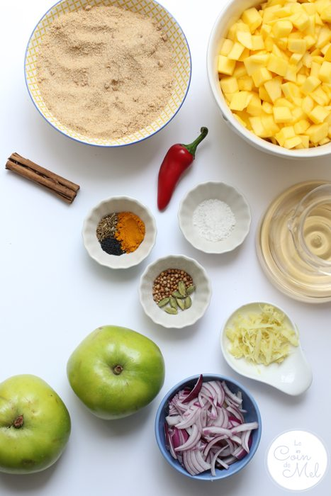 Mango Chutney Ingredients