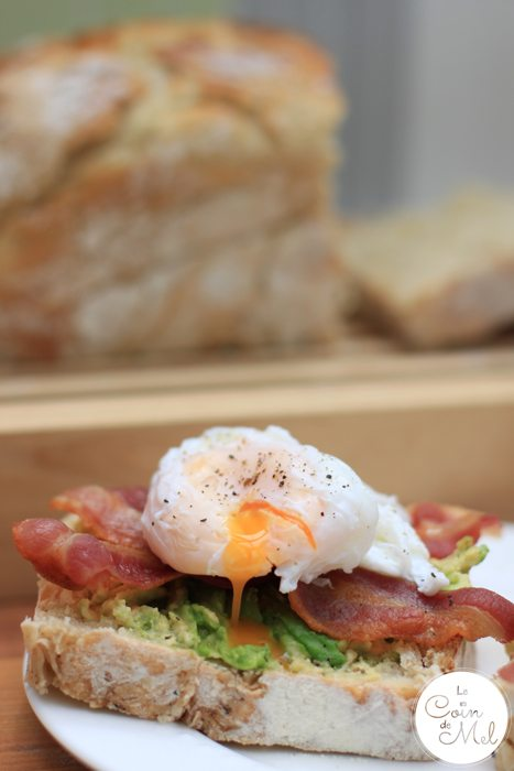 The Ultimate Bacon, Avocado & Poached Egg Sandwiches - yum