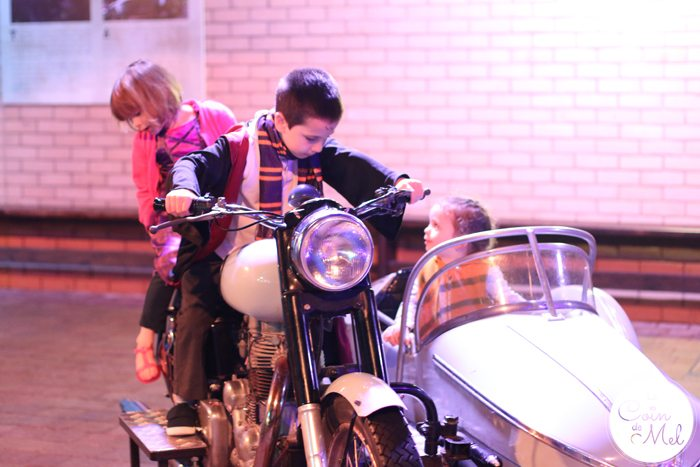 A Feast at the Harry Potter Studios - Motorbike