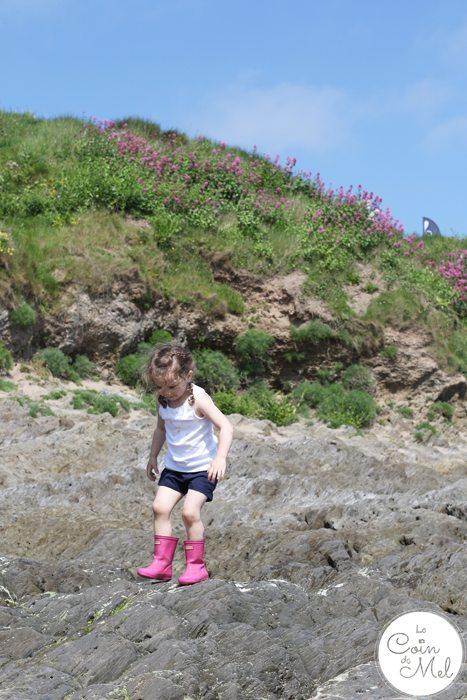 Bigbury Devon - Climbing