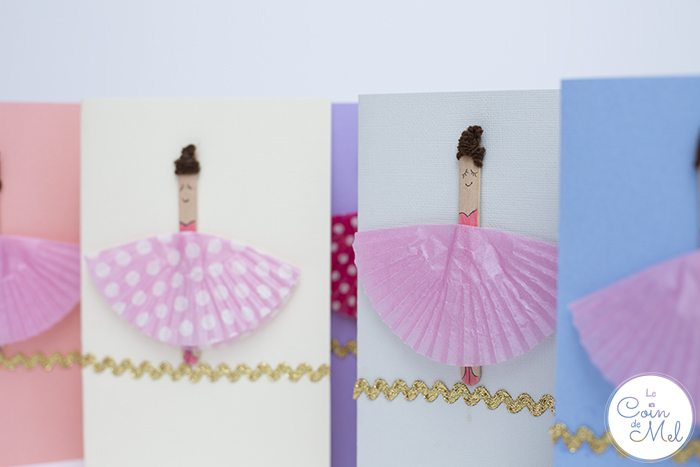 10 Minute Crafts- Ballerina Cards