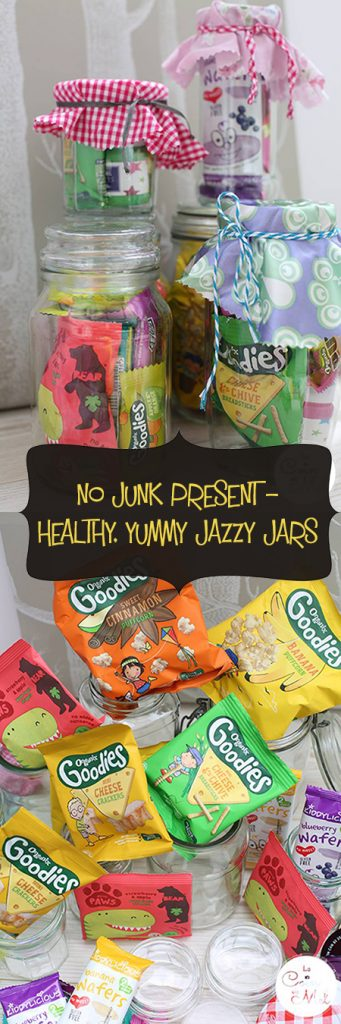 No Junk Present - Healthy, Yummy Jazzy Jars You Can Put Together Easily