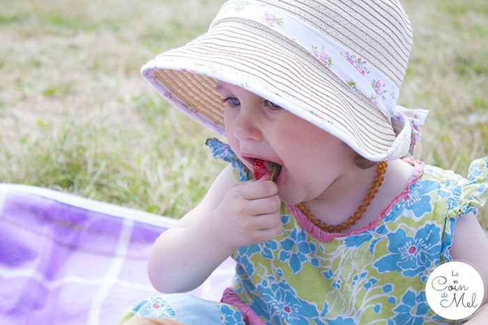 Strawberry Picking & a Picnic with a Difference - Yummy Strawberries