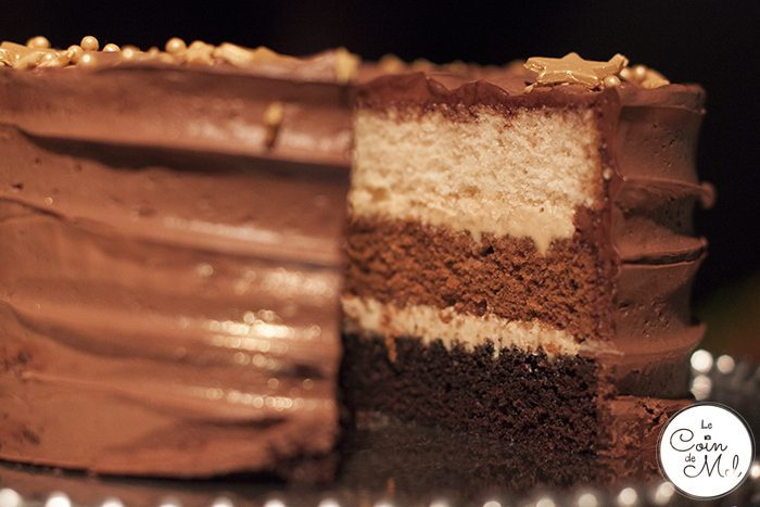 What to Expect from Waitrose this Christmas - Ombré Chocolte Cake