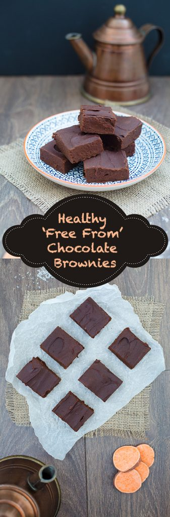 Warning: These brownies are addictive! They're also delicious, healthy and allergy-friendly! Not only are they vegan, gluten-free, wheat-free, nut-free, they also happen to be free from refined sugar. www.lecoindemel.com
