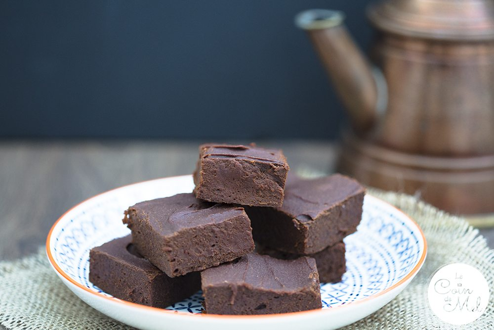 Healthy Free From Chocolate Brownies