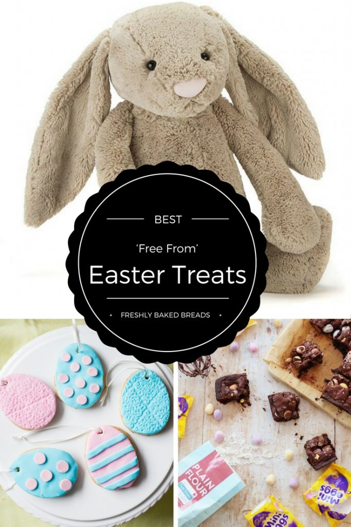 What kind of goodies do you give children with allergies for Easter? Check these 'Free From' Easter Treats, from safe chocolate to caterpillars to teddies.