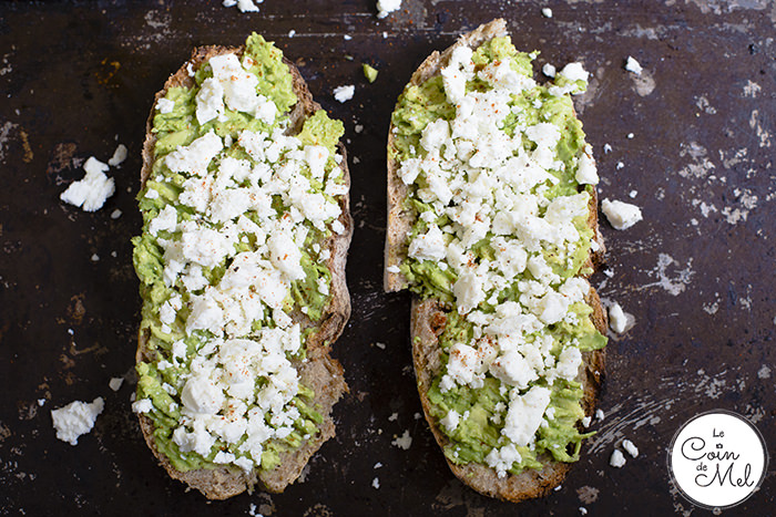 'Avocado Feta Toast' is my ultimate brunch. This open sandwich is full of flavours yet quick and simple to make, with wholesome ingredients.