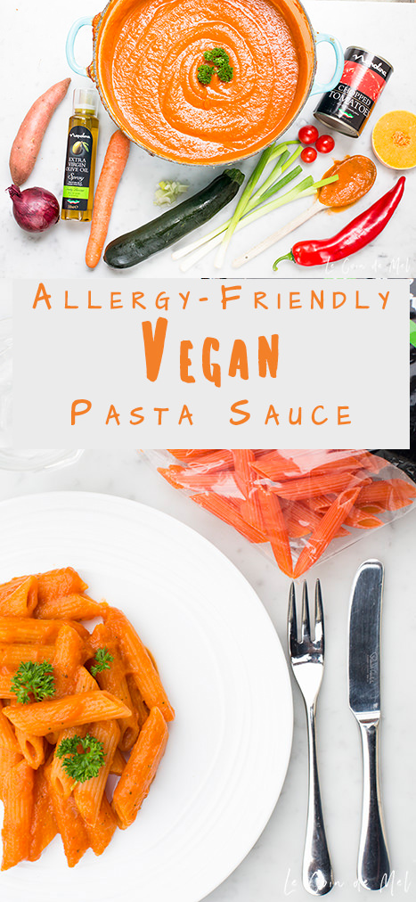 Looking for a vegan pasta sauce recipe that's allergy-friendly, really easy to make, versatile and full of goodness? Look no further!