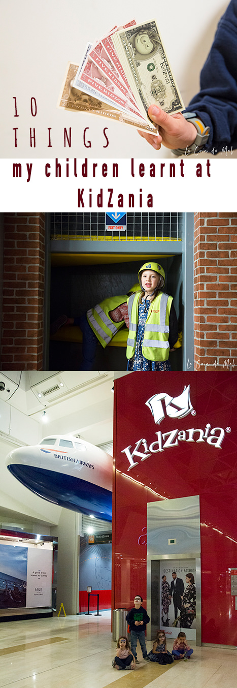 Have you ever considered taking your children to Kidzania London? Check this post for some information and the top 10 things my children learnt there.