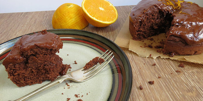 5 Vegan Chocolate Treats & #FreeFromFridays - Chocolate Orange Cake by Rebecca at Glutarama