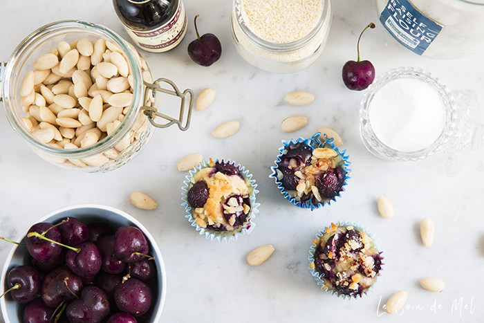 My Cherry Almond Muffins are dairy-free, gluten-free, free from refined sugar, and so so yummy! Click for the recipe and to learn a bit more about sugar and 'free' sugars...