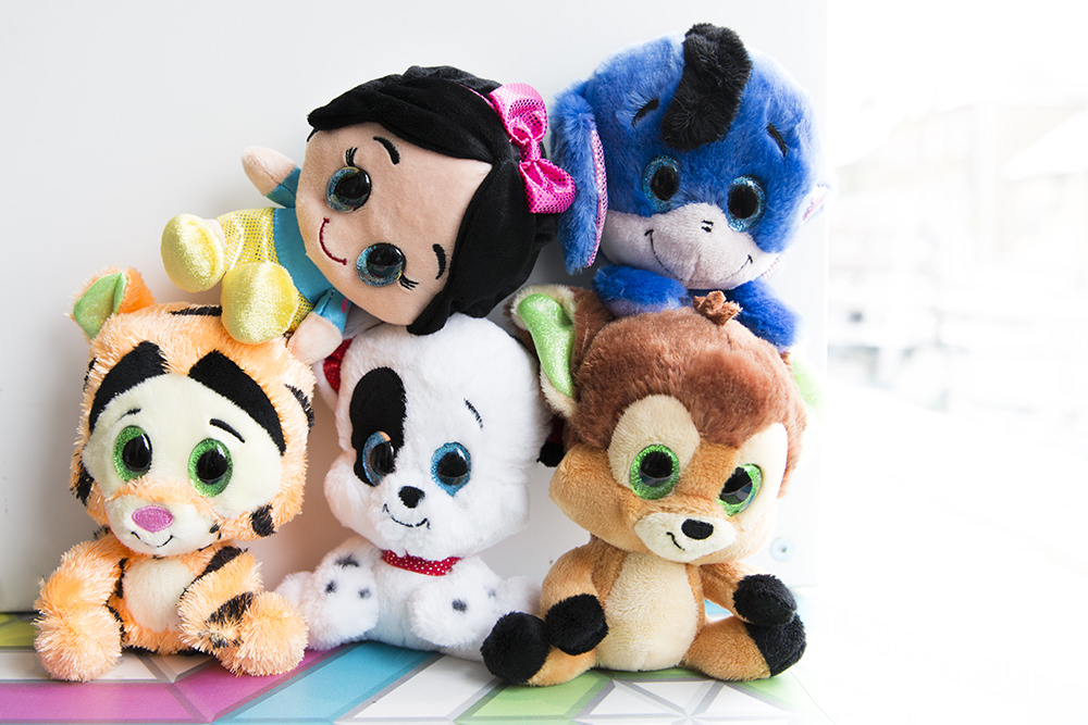 With Posh Paws Disney Collection Plush Toys, Disney fans of all ages can Build and collect their own Disney Squad full of iconic Disney characters including Tigger, Bambi, Eeyore, Snow White and Mickey Mouse. They make the perfect gift for Disney fans of all ages and they're suitable from birth.