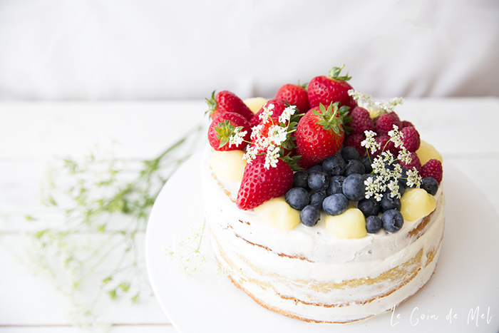Our Easy Lemon & Elderflower Cake is so simple to put together my children made most of it, with just a little bit of help from me. It's absolutely delicious, and perfect served with summer berries.