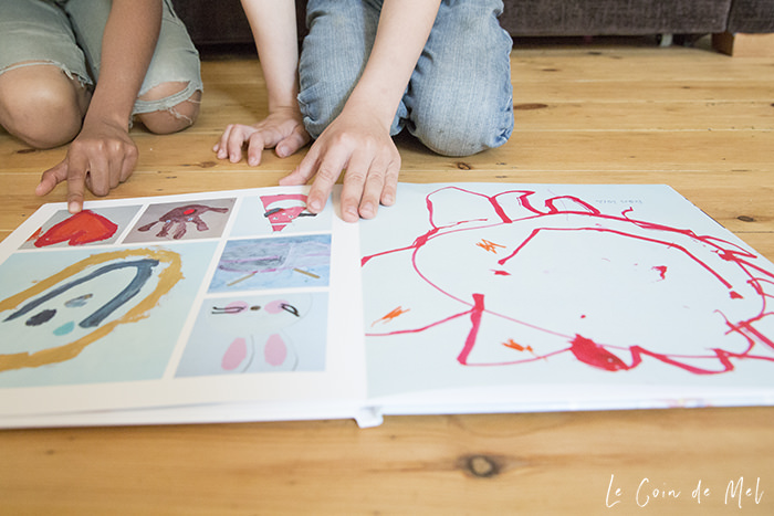 What's the best way of keeping my kids' artwork all in one place? I thought Art folders were the best option, but they've taken lots of space and things always come unstuck and get messy when the kids open them. Photo albums seem to be the way forward!