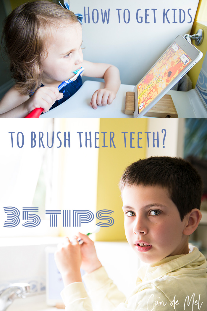 How do you get children to brush their teeth? Look no further: we have 35 top tips to encourage kids to brush their teeth.