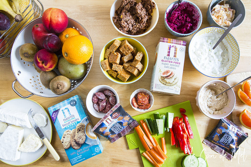 A Week of Quick Gluten-free Lunchboxes with Nairn's