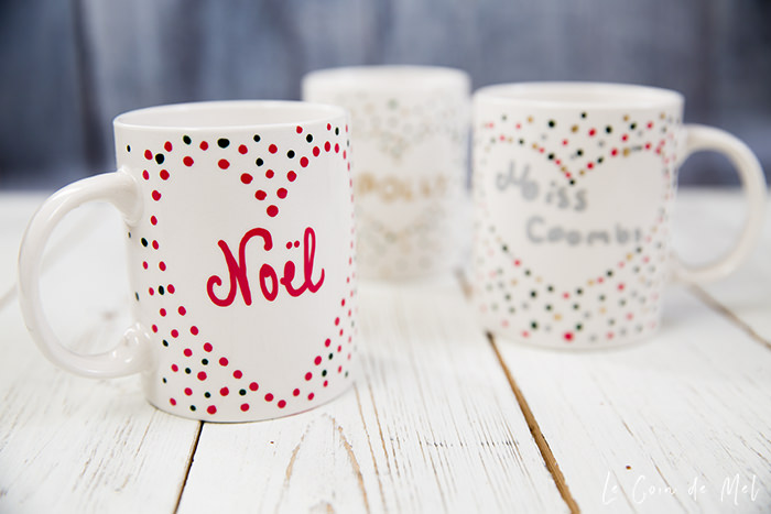 ... easy mug art activity into homemade Christmas presents and we made four of them: one for my friend Polly, one for my teacher, one for my grandma and one ...