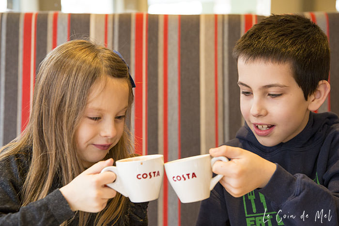 Last weekend, two of my children and I treated ourselves to our favourite hot drinks with Arla Lactofree at Costa Coffee. Check what we thought.