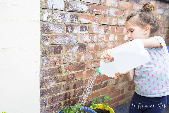 There are lots of ways you can upcycle plastic milk bottles. Check our blog post for 4 child-friendly-ways to transform your old plastic bottles.