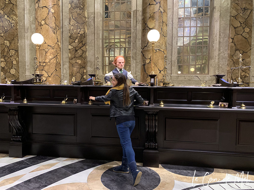 The set of Gringotts Wizarding Bank is the Warner Bros. Studio Tour London's biggest expansion to date and it is impressive!