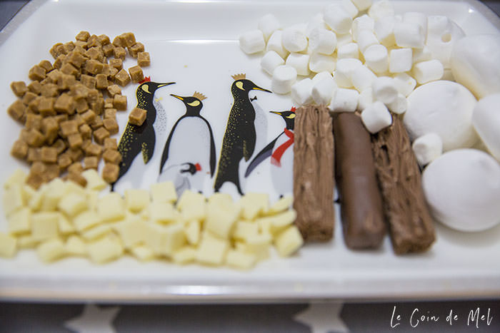 Chocolate bar goodies