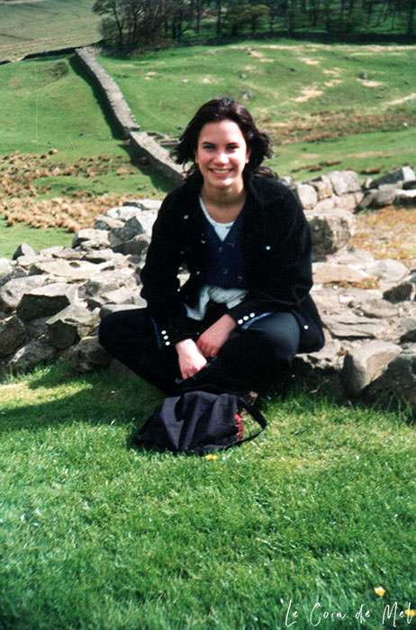Check my reasons why 40 is the new 30. Who said everything had to go downhill once you hit 40? Could forty really be the new thirty? This is me sat on Hadrian's wall when I was 16.