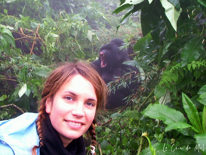Check my reasons why 40 is the new 30. Who said everything had to go downhill once you hit 40? Could forty really be the new thirty? This is me at 27 years old in Rwanda. I'd just trekked for hours to see gorillas in the wild and I'm right in front of a huge silverback