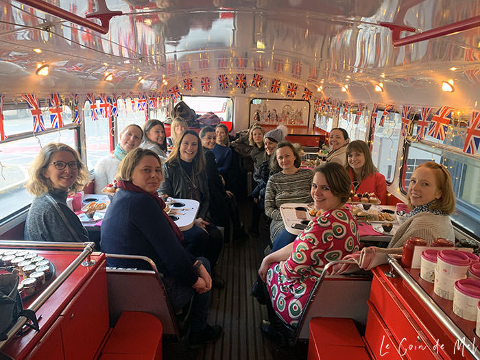 Check my reasons why 40 is the new 30. Who said everything had to go downhill once you hit 40? Could forty really be the new thirty? Brigit's Afternoon Tea red bus with my closest girlfriends