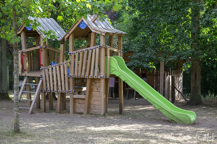 The playground at La Ferme Souchinet
